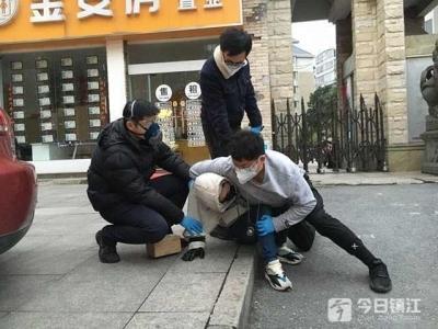 """又有人上当被骗  丹阳警方抓了个""""口罩骗子"""""""