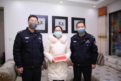 镇江边检站走访慰问民警职工医护人员家属