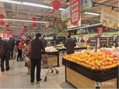 镇江超市、菜场防疫情况如何?跟着记者一起来看