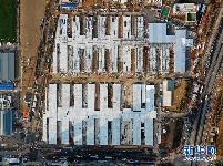 武汉雷神山医院施工进入冲刺阶段