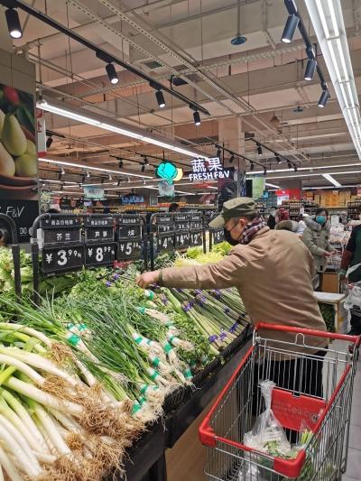 品种多货源足,受雨雪影响小  我市农产品产销对接平台销售100余吨