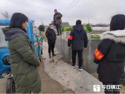 """江心园区帮菜农建""""宅家卖菜""""渠道"""