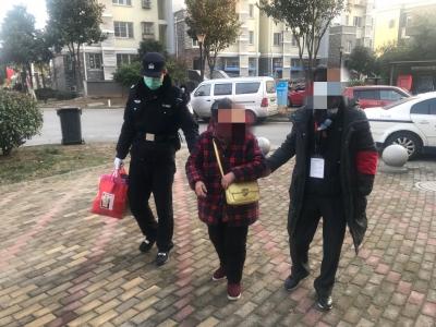【91岁老人走亲戚迷路,95后民警横跨镇江护送回家】