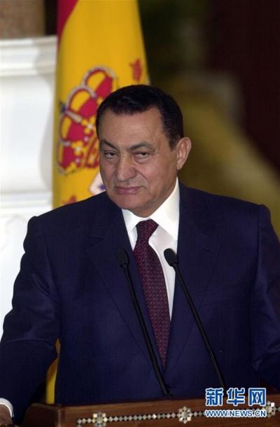 埃及前总统穆巴拉克去世