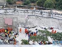 福建泉州一酒店楼体坍塌 救援行动仍在进行中