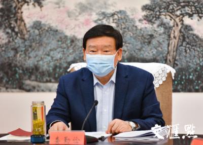 """江苏省委书记娄勤俭:抓好这件事,夺取""""双胜利""""!"""