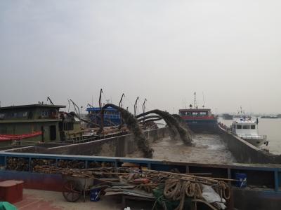 疏浚砂开采上岸全方位监管