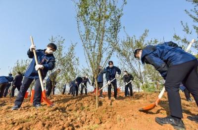 江苏省前方指挥部与我市共建江苏支援黄石疫情防控纪念林
