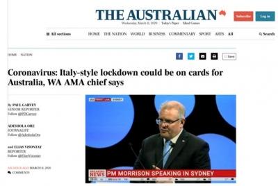 澳专家:迄今为止,只有中国成功遏制住了新冠病毒传播