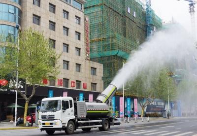 扬中:让城市管理有力度更有温度