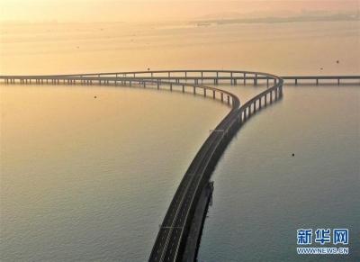 青岛胶州湾大桥胶州连接线开通