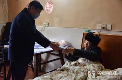 丹阳瘫痪在床高兴大为武汉抗疫捐款 他的一番话令在场人沉默