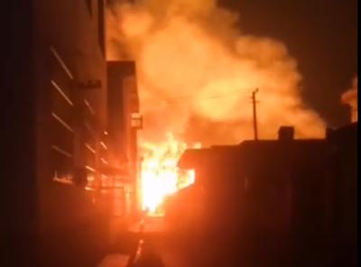 关于连云港赣榆区城头镇4.21火灾事故环境监测情况通报