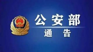 公安部对13名重大涉黑涉恶逃犯发布A级通缉令