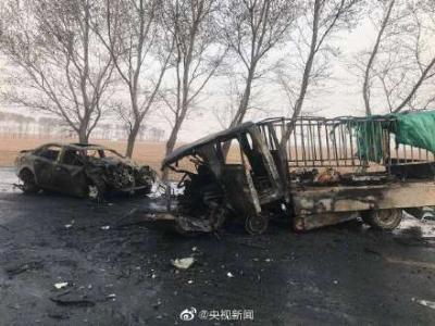吉林乾安县发生交通事故,造成11人死亡5人受伤,公安部派出工作组