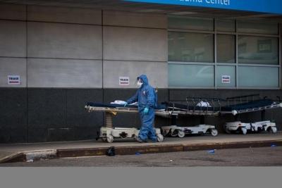 全球新冠病毒感染病例超160万,死亡95699例