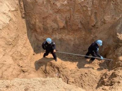 河南原阳一小区土方内发现4具儿童尸体 8人被刑拘