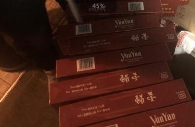 镇江警方查获万余条假烟  案值200余万元