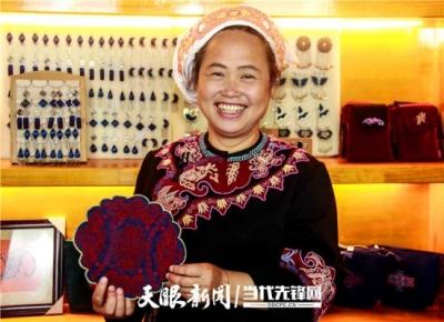 """【微纪录片】唱支山歌给党听:她把水族脱贫的故事""""穿""""到北京"""