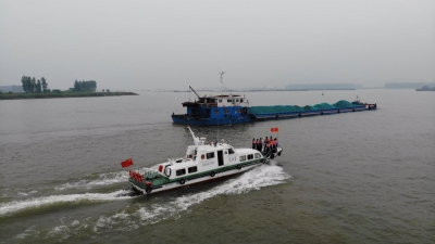 长航镇江公安、镇江边检站联合启动水上安全专项行动