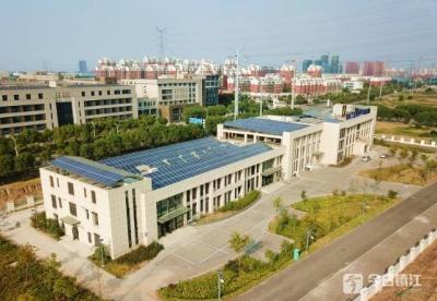 在这里!镇江首个建筑获得三星级绿色建筑运行标识