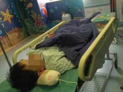 10岁儿童得肿瘤,家庭困难医药费难筹 爸爸:希望好心人士伸出双手帮帮我们