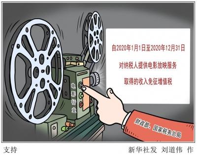 我国出台税费优惠政策支持电影等行业发展