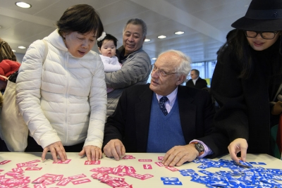 """通讯:""""云端""""架桥 守望相助——巴黎中国文化中心与法国民众共抗疫"""