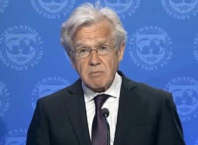 IMF:中国举措对全球抗疫有借鉴意义