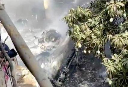 巴基斯坦媒体:坠机事件遇难人数上升至86人,另有两人幸存