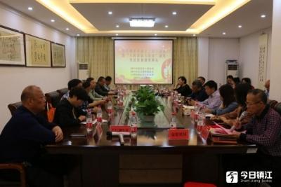 长江拥军服务社举办成立三周年座谈会