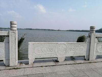 """百米滨水路护栏""""四处""""缺损"""