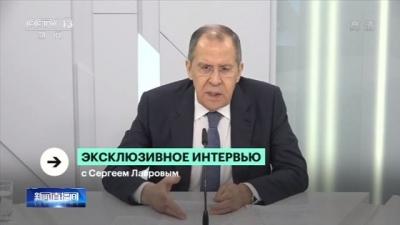 """俄外长:美""""污名化""""中国的指控不正确"""
