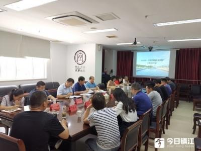 镇江新区专题推进河道长效管理考核工作