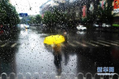 暴雨警报!今天沿江和苏南地区阴有阵雨或雷雨