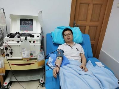 多发伤病人术后入住ICU急需血小板 医者仁心!存量不够主班医生紧急捐献
