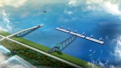 把服务送上门  做好要素保障  新区城建助涉水项目建设加速跑