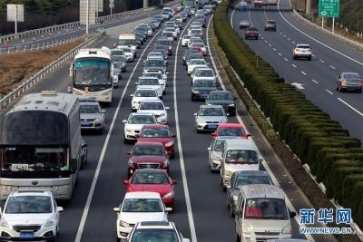端午节假期三天,江苏高速路网出口总流量超700万