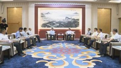 马明龙会见丹佛斯中国区总裁徐阳一行