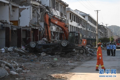 温岭槽罐车爆炸事故现场搜救结束 遇难人数增至20人