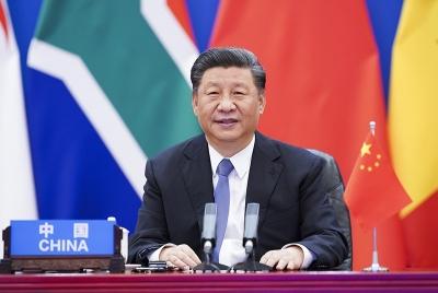 """《中国之治》 中非特别峰会上,习近平为何强调这三个""""判断""""?"""