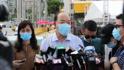 澳门特区行政长官贺一诚:香港国安立法是需要的