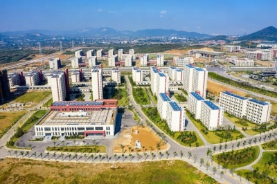 江科大新校区建设进入冲刺阶段 今年下半年将全面启用