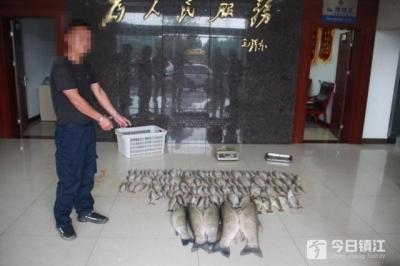 一非法捕捞团伙被摧毁 收鱼饭店老板主动放流