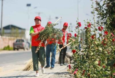 整治人居环境,新疆呼图壁打造美丽乡村