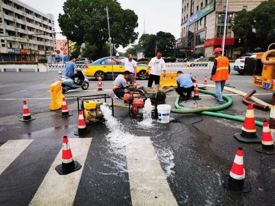 """告别""""看海"""",丹阳眼镜城城际通道雨水管网整治完成"""
