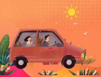 小贴士|@驾驶人 夏季高温如何预防私家车自燃