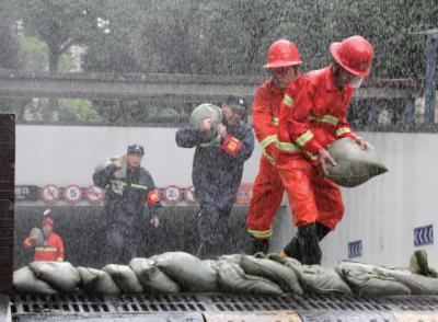 江苏全省汛情形势依然严峻 39站水位超警超保