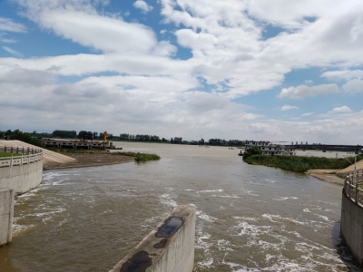 4座中型泵站12台排涝泵全部启动 大路镇加强排涝防汛保障生产生活