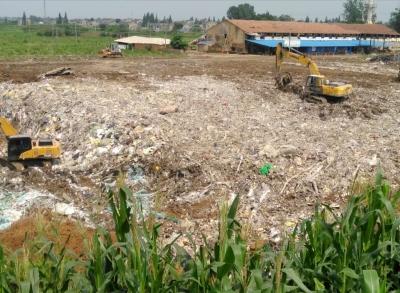 丹阳延陵镇复垦还田   近百亩取土坑竟成垃圾填埋场